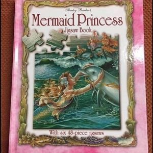 💞🧜🏻♀️💞 OFFERS WELCOME 💞🧜🏻♀️💞 Mermaid Princess jigsaw book $30